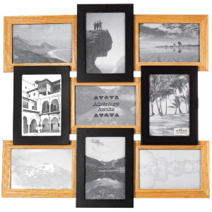 Nine Photo Multi Frame
