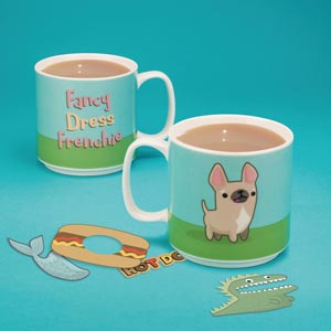 Fancy Dress Frenchie Mug