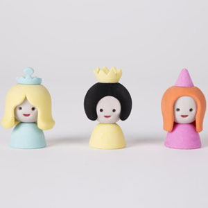 Mix & Match Princess Erasers