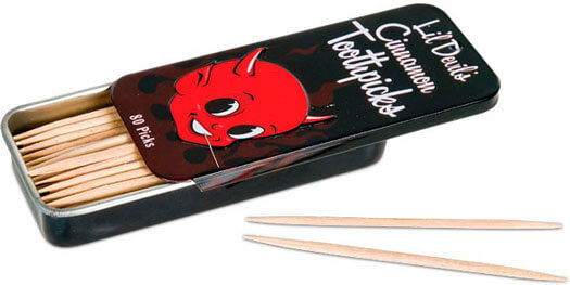 Li'l Devil's Cinnamon Toothpicks