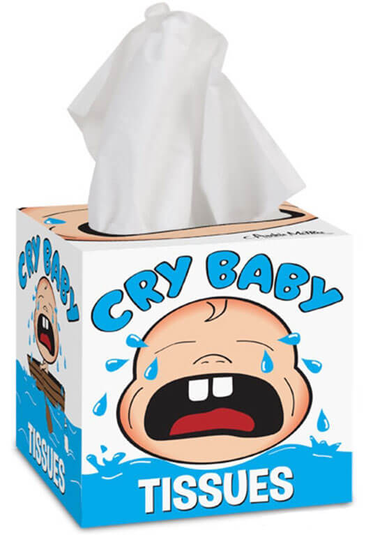 Tissue Box Cry Baby