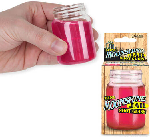 Mini Moonshine Jar Shot Glass