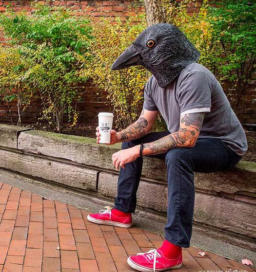 Krähen Maske