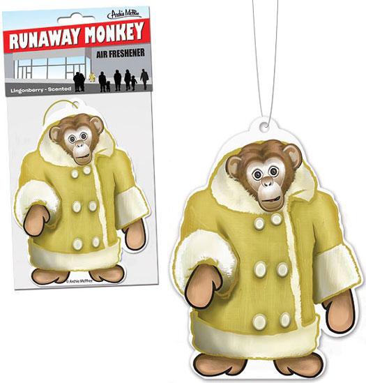 Runaway Monkey Affe Lufterfrischer