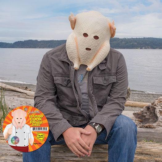 Truthahn Maske
