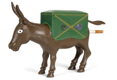 Donkey Cigarette Dispenser