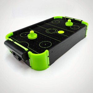 Neon Air Hockey
