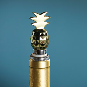 Pineapple Bottle Stopper