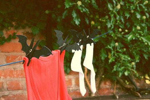 Wäscheklammer Fledermaus