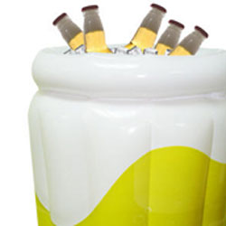 Inflatable Beer Bucket - Beer Cooler Ice Bucket