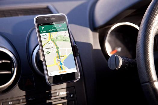 Lüftungshalterung für Smartphones