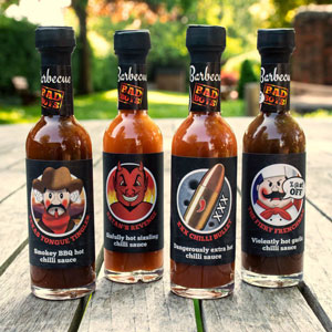 Bad Boys BBQ Sauce Selection