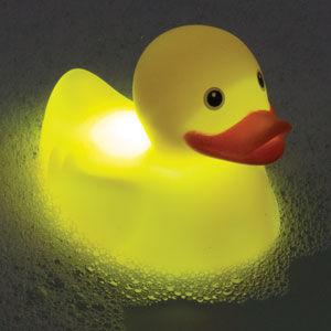 Light Up Bath Duck