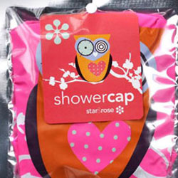 Owl Shower Cap