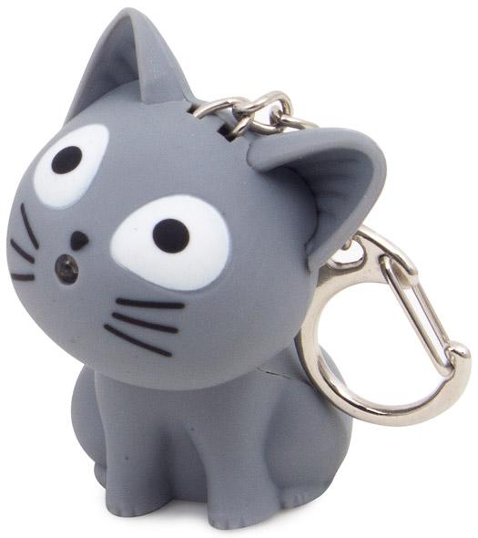 Schlüsselanhänger Katze mit Sound