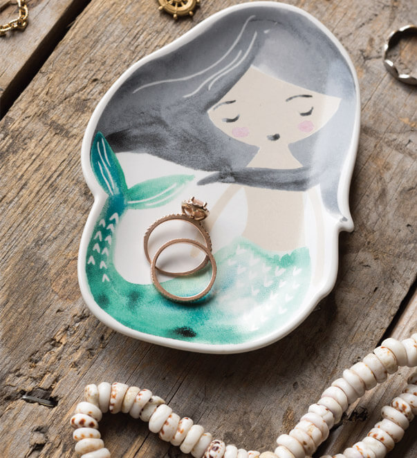 Mermaid Trinket Tray