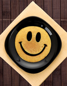 Smiley Breakfast Mold