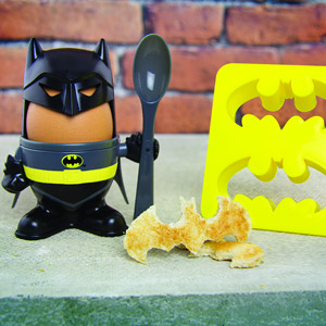 Batman Eierbecher & Brotausstecher