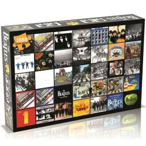 Beatles Album Covers Collage Jigsaw Puzzle