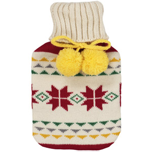 Fairisle Hot Water Bottle