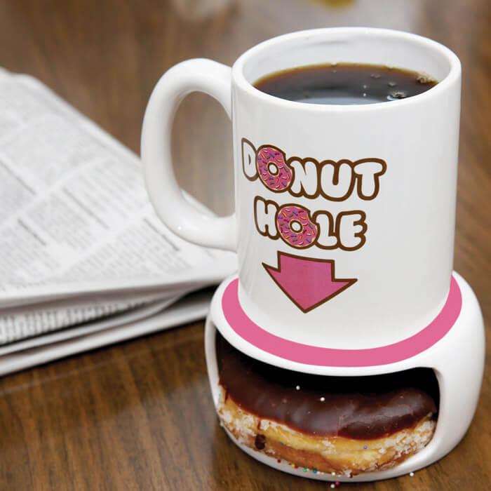 Donut Loch Tasse