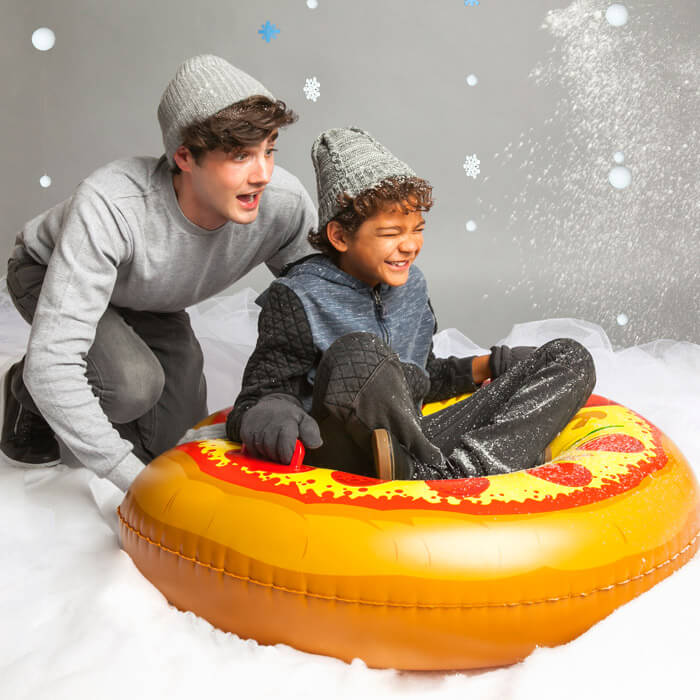 Luge Gonflable Snow Tube Pizza