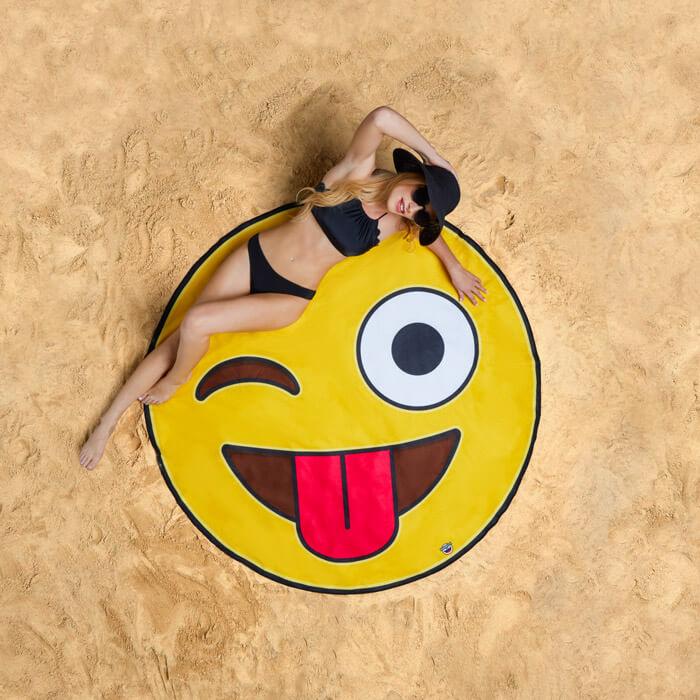 Strandtuch Emoji