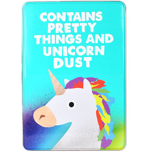 Unicorn Tin Box