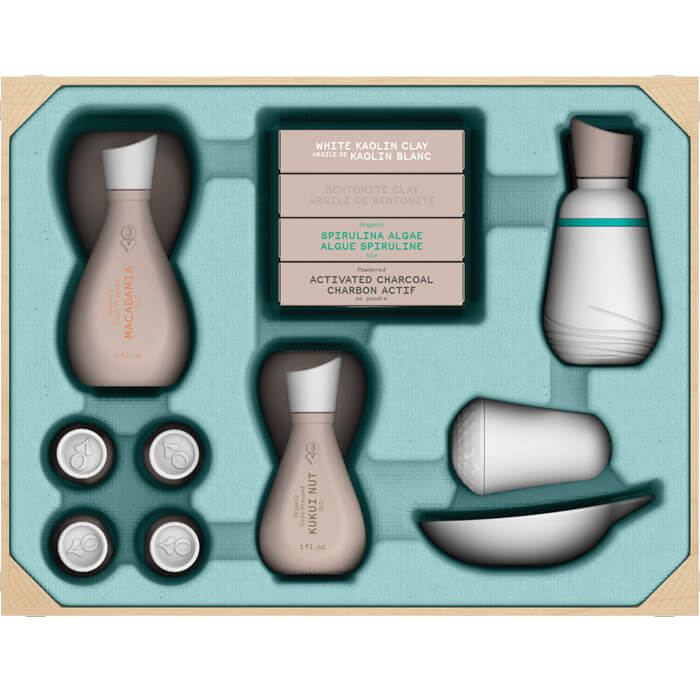 Do-It-Yourself Naturkosmetik Spa Set