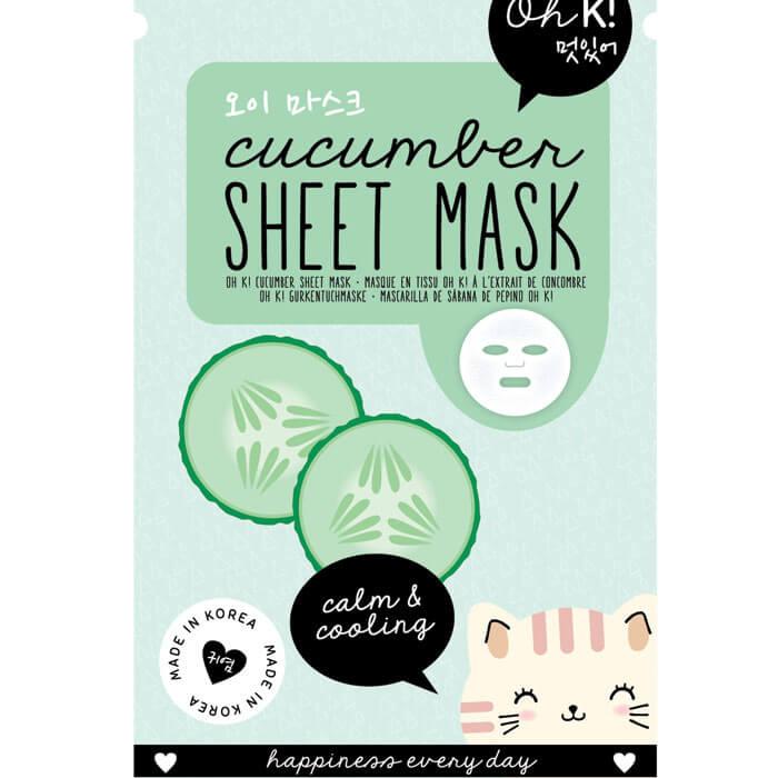 Oh K! Masque en Tissus au Concombre