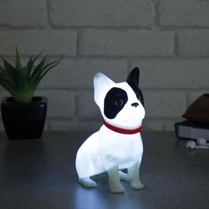 Frenchie Lampe