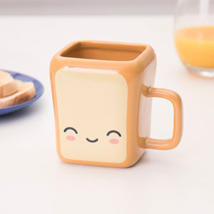 Buttertoast Tasse