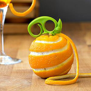 Zesty Citrus Zester and Peeler
