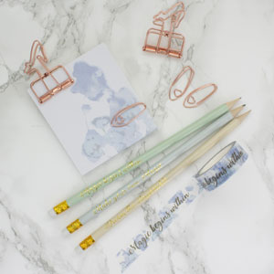 Cinderella Stationery Set