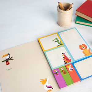 Colourful Creatures Memo Pads