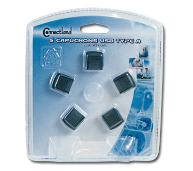 5 USB Typ A Schutzkappen