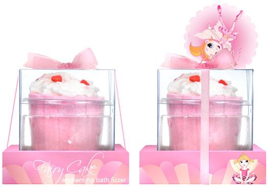 Cupcake effervescent pour le bain
