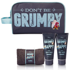 Disney Grumpy Wash Bag Set