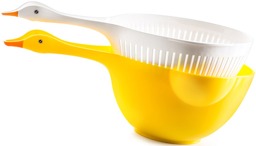 Colander and Bowl Goosey