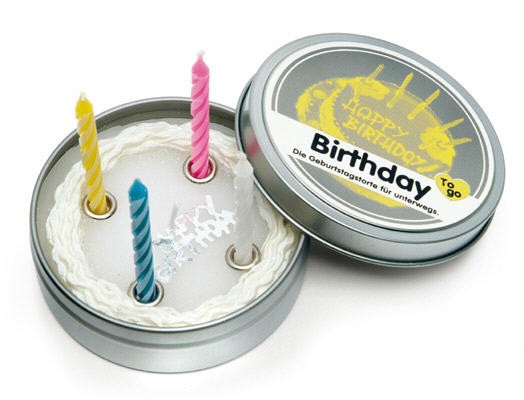 Happy Birthday Candle to Go