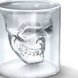 Verre � Shooter Cr�ne en Cristal