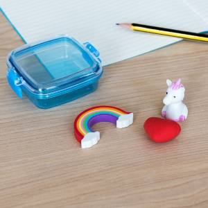 Magical Unicorn Eraser Set