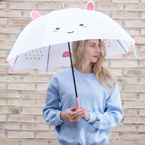 Unicorn Light Up Umbrella