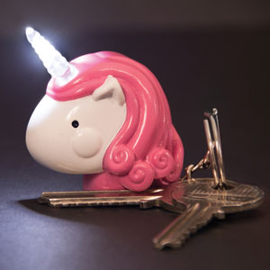 Unicorn Keyring Light