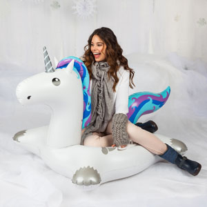 Giant Unicorn Snow Tube