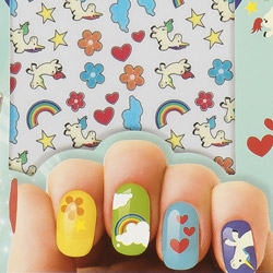 Unicorn Nail Sticker