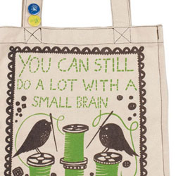 Rob Ryan Canvas shopper bag