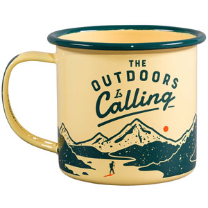 Enamel Mug Outdoors