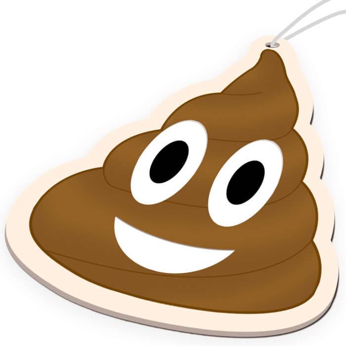 Lufterfrischer Emoji Kackehaufen