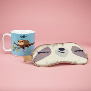 Sloffee Mug & Eyemask Set